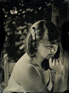 Bridal tintype